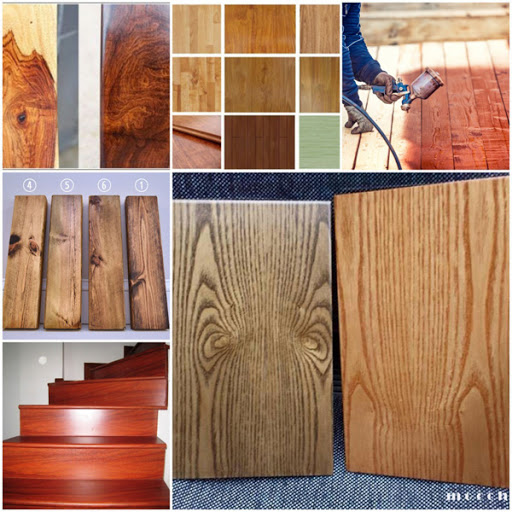 Sơn cửa gỗ